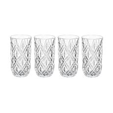 Mikasa Claremont Highball Glass Set of 4