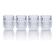 Mikasa Delano Double Old Fashioned Glass Set of 4
