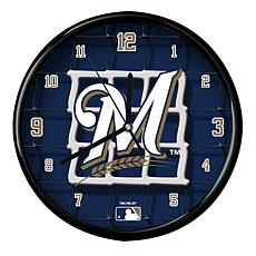 Milwaukee Brewers Team Net Clock