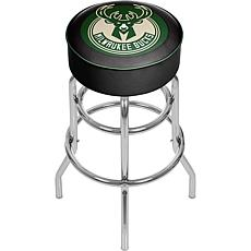 Milwaukee Bucks NBA Padded Swivel Bar Stool