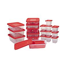 Mind Reader 19 Meal Prep Plastic Containers w Lids/Removable Sections