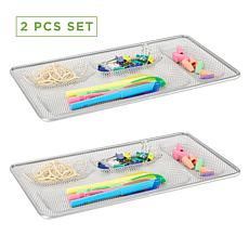 Mind Reader 2-Piece Mesh Drawer Organizing Liner
