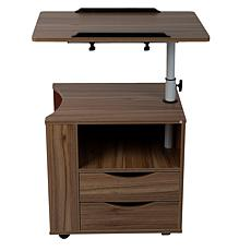 Mind Reader Bedside Workstation Adjustable Desk Nightstand
