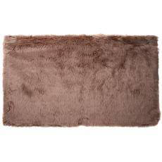 "Mind Reader Faux Plush Sheepskin Anti-skid Rug - 47.95"" x 72.05"""