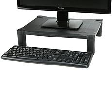 Mind Reader 'Guide ' Adjustable Plastic Monitor/Laptop Stand - Black