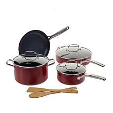 Ming Searsmart  Blue Diamond Nonstick 9-piece Cookware Set