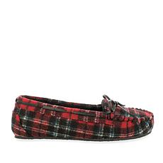 Minnetonka Cally Plaid Slipper