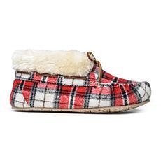Minnetonka Plaid Chrissy Slipper