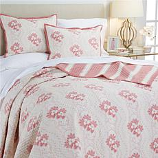 Minnie Driver Cornwall 3-piece Cotton Quilt Set