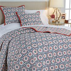 Minnie Driver St. Mary's 3-piece Cotton Quilt Set