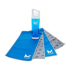 MISSION™ HydroActive Fuel and Cool Towel & Bottle