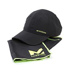 MISSION™ HydroActive Max Cooling Towel and Hat