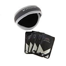 MISSION VaporActive Ear Warmers with Heat Booster 4pk