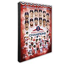 MLB 2018 World Series Champions Composite Canvas Photo