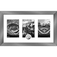 MLB Detroit Tigers Art Deco Silver-Plated Coin Photo Mint