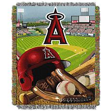 MLB Home Field Advantage Tapestry Throw - Angels