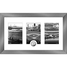 MLB Pittsburgh Pirates Art Deco Silver-Plated Coin Photo Mint