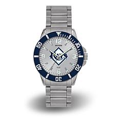 "MLB Sparo ""Key"" Team Logo Stainless Steel Watch - Tampa Bay Rays"
