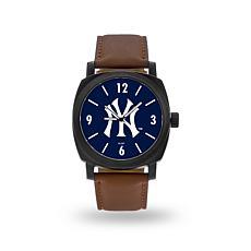 "MLB Sparo""Knight""Faux LeatherWatch - Yankees"