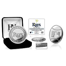 MLB Tampa Bay Rays Silver-Plated Coin
