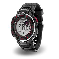 "MLB Team Logo ""Power"" Digital Sports Watch - Rangers"