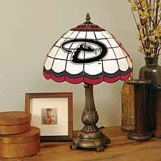 MLB Tiffany-Style Table Lamp - Arizona Diamondbacks