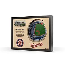 MLB Washington Nationals StadiumViews 3-D Wall Art - Nationals Park