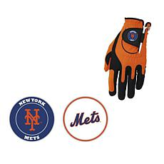 MLB Zero Friction Golf Glove and Ball Marker