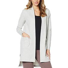 ModernSoul® Hi-Low Open Front Cardigan with Pockets