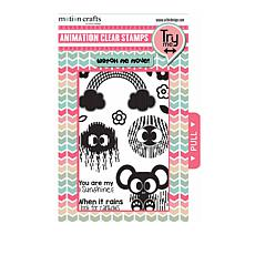 Motion Crafts Animation Clear Stamp Set - Sunshine