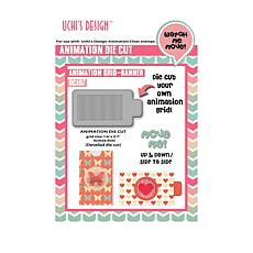 Motion Crafts Animation Die-Cut Grid Banner
