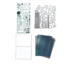 Motion Crafts Melt My Heart All-in-One Stamp & Die Kit