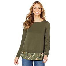 Motto Ladylike Split-Back Sweater