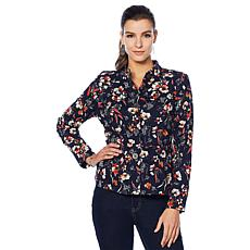 Motto Peplum Jacket