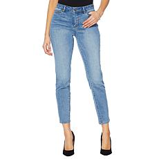 Motto Stretch Denim 5-Pocket Girlfriend Jean