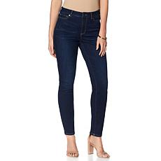 Motto Stretch Denim 5-Pocket Straight-Leg Jean