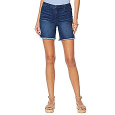 Motto Stretch Denim Girlfriend Short