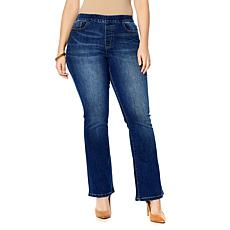 Motto Stretch Denim Pull-On Boot-Cut Jean