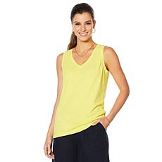 Motto Sunkissed Knit V-Neck Tank