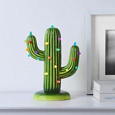 Mr. Christmas LED Ceramic Holiday Cactus