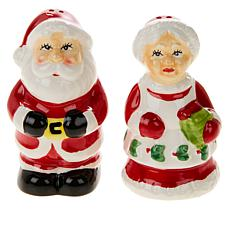 "Mr. Christmas Set of 3.5"" Salt and Pepper Shakers"