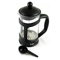Mr. Coffee Brivio 28 Ounce Glass French Press Coffee Maker with Pla...