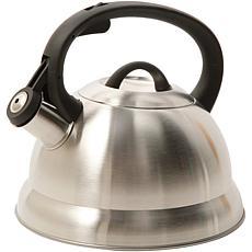 Mr. Coffee Flintshire 1.75 Qt Stainless Steel Whistling Tea Kettler