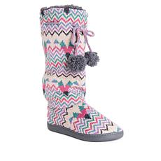 MUK LUKS Gloria Knit Tall Slipper Boot