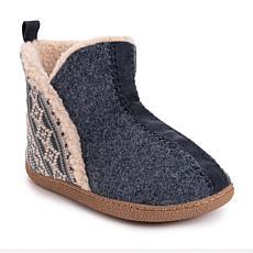 MUK LUKS® Men's Caleb Bootie Slippers