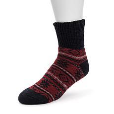 MUK LUKS® Men's Short Heat Retainer Thermal Insulated Socks