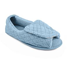 MUK LUKS Men's Velcro Open-Toe Slippers
