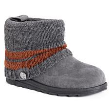 MUK LUKS Patti Knit Cuff Short Boot