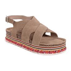 MUK LUKS® Women's Beach Bingo Platform Sandal