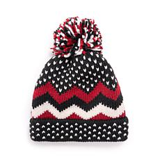 MUK LUKS® Women's Chevron Pom Hat